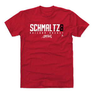 Nick Schmaltz Men's Cotton T-Shirt | 500 LEVEL