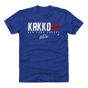 Kaapo Kakko Men's Cotton T-Shirt | 500 LEVEL