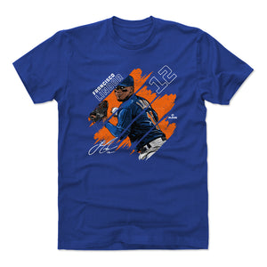 Francisco Lindor Men's Cotton T-Shirt | 500 LEVEL