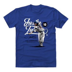 Justin Turner Men's Cotton T-Shirt | 500 LEVEL