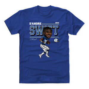 D'Andre Swift Men's Cotton T-Shirt | 500 LEVEL