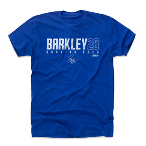 Saquon Barkley Men's Cotton T-Shirt | 500 LEVEL