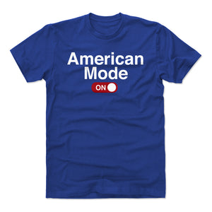 Funny USA Men's Cotton T-Shirt | 500 LEVEL