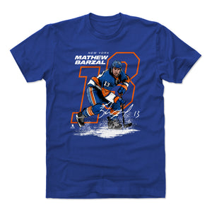 Mathew Barzal Men's Cotton T-Shirt | 500 LEVEL