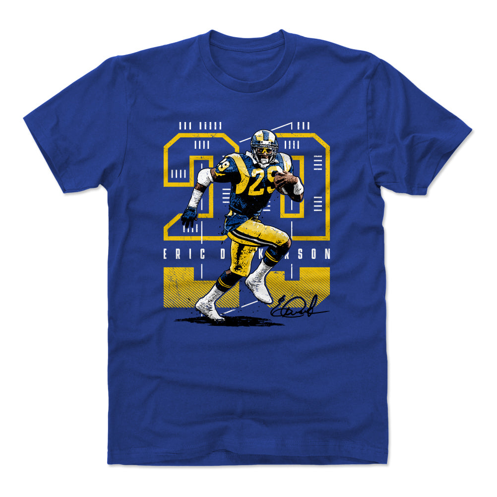 Eric Dickerson Men's Cotton T-Shirt | 500 LEVEL