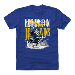 Jordan Binnington Men's Cotton T-Shirt | 500 LEVEL