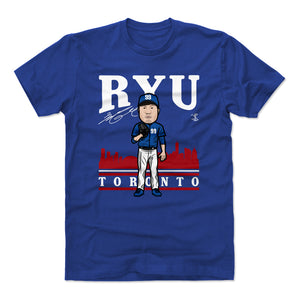 Hyun-Jin Ryu Men's Cotton T-Shirt | 500 LEVEL