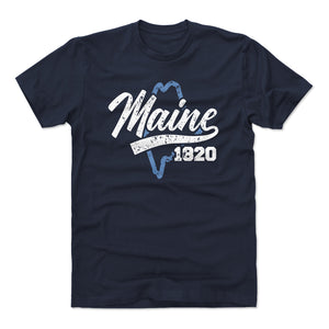 Maine Men's Cotton T-Shirt | 500 LEVEL
