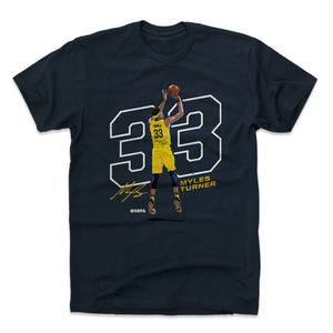Myles Turner Men's Cotton T-Shirt | 500 LEVEL