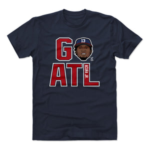 Ronald Acuna Jr. Men's Cotton T-Shirt | 500 LEVEL
