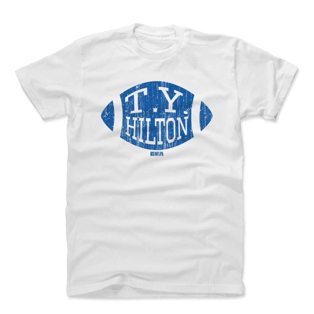 T.Y. Hilton Men's Cotton T-Shirt | 500 LEVEL