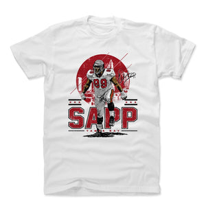 Warren Sapp Men's Cotton T-Shirt | 500 LEVEL