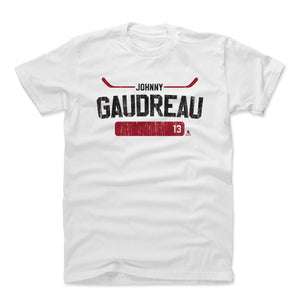 Johnny Gaudreau Men's Cotton T-Shirt | 500 LEVEL