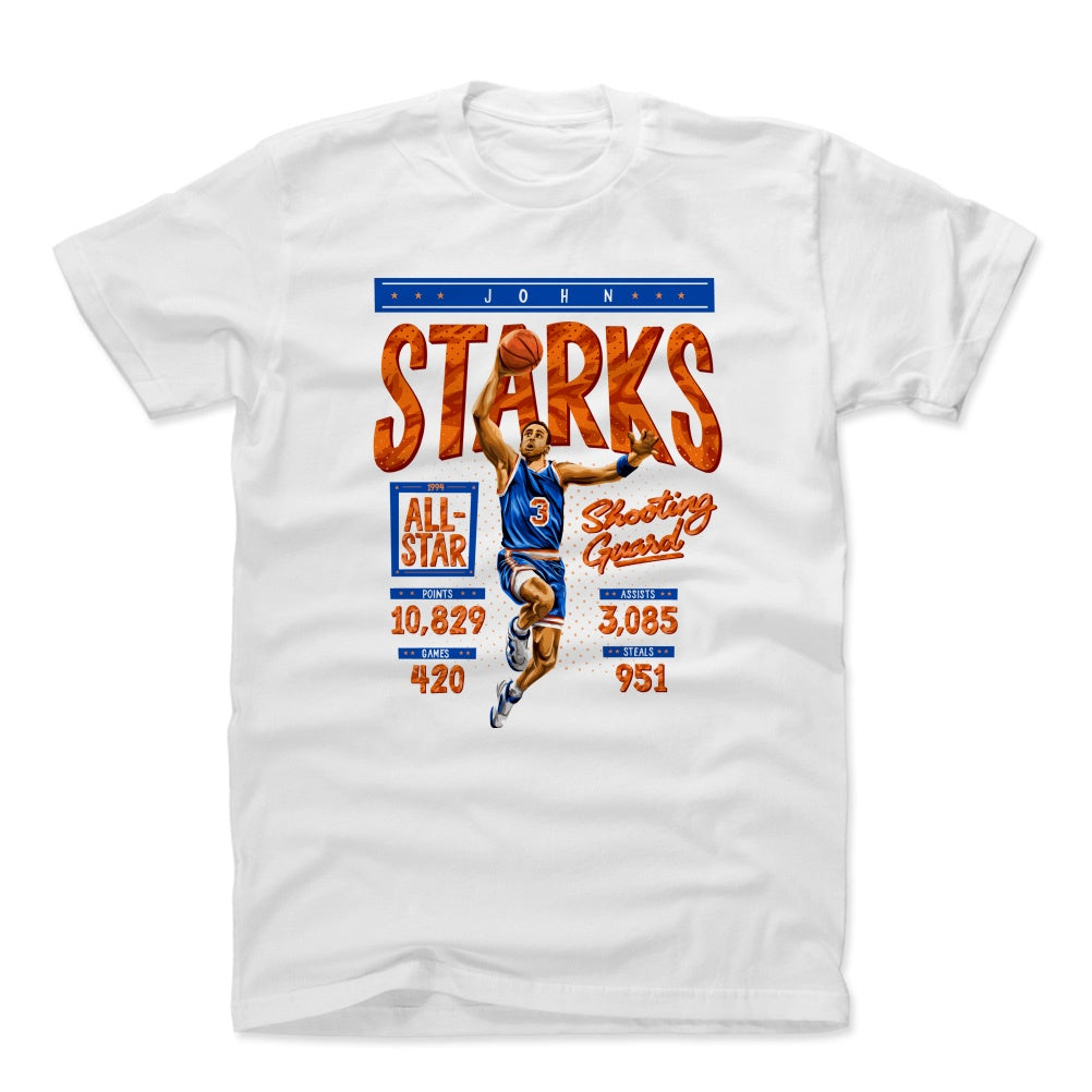 John Starks Men's Cotton T-Shirt | 500 LEVEL
