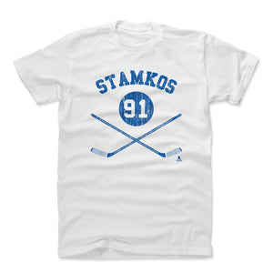 Steven Stamkos Men's Cotton T-Shirt | 500 LEVEL