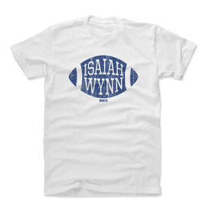 Isaiah Wynn Men's Cotton T-Shirt | 500 LEVEL