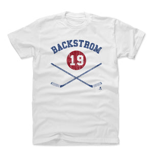 Nicklas Backstrom Men's Cotton T-Shirt | 500 LEVEL
