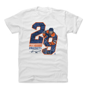 Leon Draisaitl Men's Cotton T-Shirt | 500 LEVEL