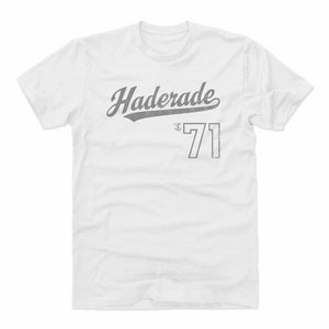 Josh Hader Men's Cotton T-Shirt | 500 LEVEL