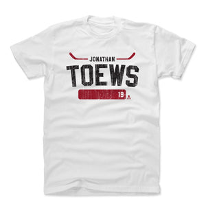 Jonathan Toews Men's Cotton T-Shirt | 500 LEVEL