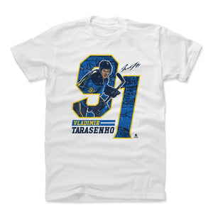 Vladimir Tarasenko Men's Cotton T-Shirt | 500 LEVEL