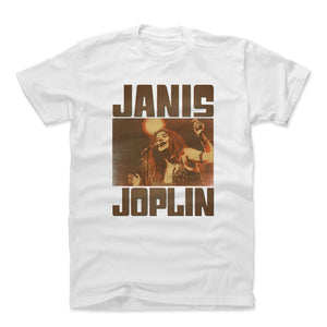 Janis Joplin Men's Cotton T-Shirt | 500 LEVEL