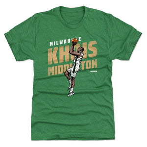 Khris Middleton Men's Premium T-Shirt | 500 LEVEL