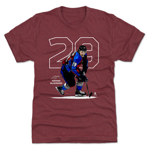 Nathan MacKinnon Men's Premium T-Shirt | 500 LEVEL