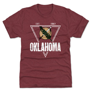 Oklahoma Men's Premium T-Shirt | 500 LEVEL