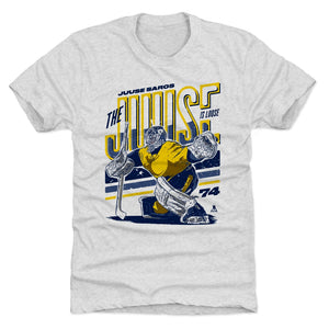 Juuse Saros Men's Premium T-Shirt | 500 LEVEL