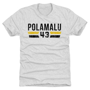 Troy Polamalu Men's Premium T-Shirt | 500 LEVEL