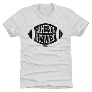 Cameron Heyward Men's Premium T-Shirt | 500 LEVEL