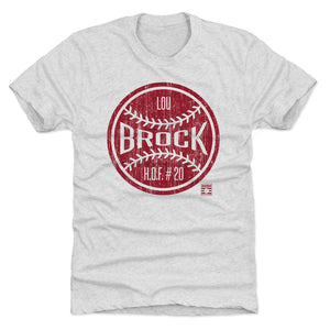 Lou Brock Men's Premium T-Shirt | 500 LEVEL