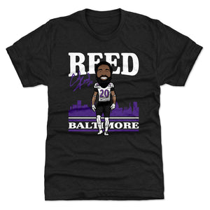 Ed Reed Men's Premium T-Shirt | 500 LEVEL