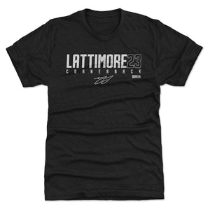 Marshon Lattimore Men's Premium T-Shirt | 500 LEVEL
