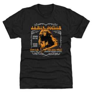 Janis Joplin Men's Premium T-Shirt | 500 LEVEL