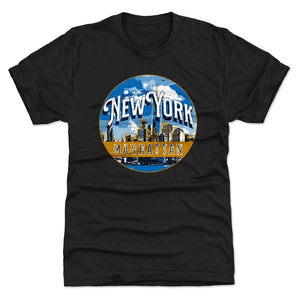 Manhattan Men's Premium T-Shirt | 500 LEVEL