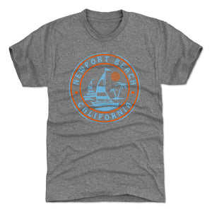 Newport Beach Men's Premium T-Shirt | 500 LEVEL