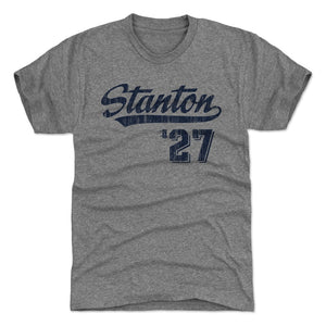 Giancarlo Stanton Men's Premium T-Shirt | 500 LEVEL