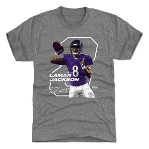 Lamar Jackson Men's Premium T-Shirt | 500 LEVEL