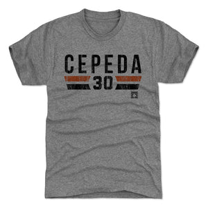 Orlando Cepeda Men's Premium T-Shirt | 500 LEVEL