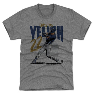 Christian Yelich Men's Premium T-Shirt | 500 LEVEL