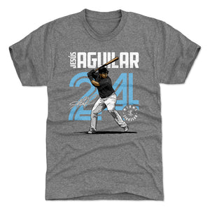 Jesus Aguilar Men's Premium T-Shirt | 500 LEVEL