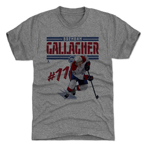 Brendan Gallagher Men's Premium T-Shirt | 500 LEVEL