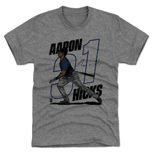 Aaron Hicks Men's Premium T-Shirt | 500 LEVEL