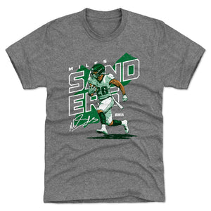 Miles Sanders Men's Premium T-Shirt | 500 LEVEL