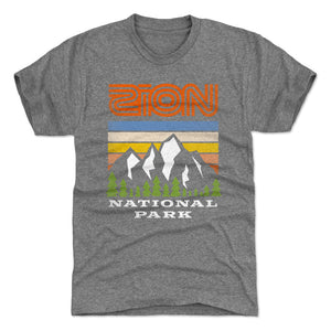 Zion National Park Men's Premium T-Shirt | 500 LEVEL