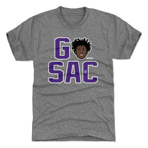 De'Aaron Fox Men's Premium T-Shirt | 500 LEVEL