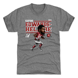 Clyde Edwards-Helaire Men's Premium T-Shirt | 500 LEVEL