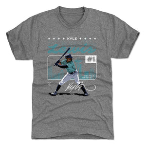 Kyle Lewis Men's Premium T-Shirt | 500 LEVEL